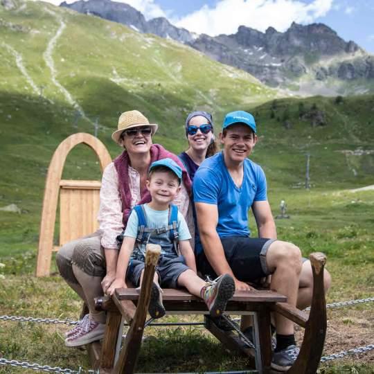 Vorschaubild zu Alperlebnisweg Lauchernalp Lötschental