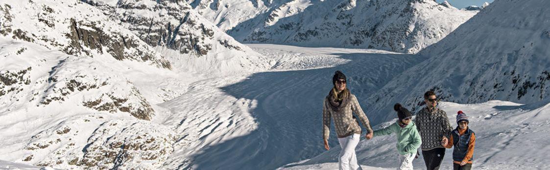 Frühlingserwachen am Grossen Aletschgletscher