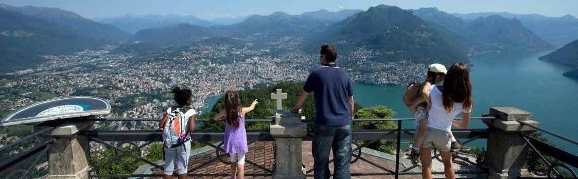 Monte San Salvatore - Wanderwege und Naturpfad 1