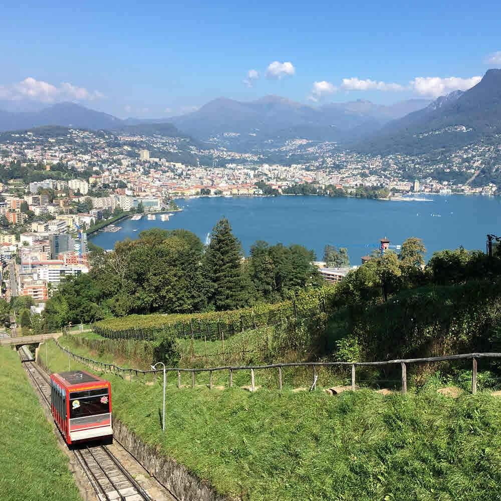 Monte San Salvatore - Wanderwege und Naturpfad