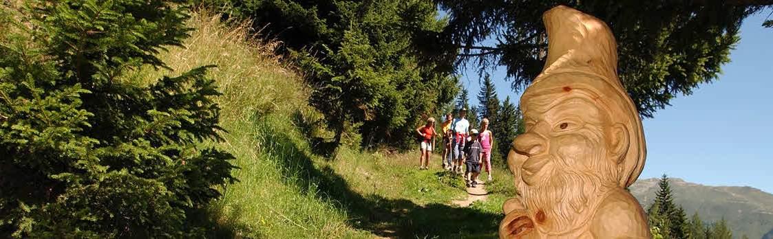 Themenweg Gogwärgiweg von Lax nach Fieschertal 1