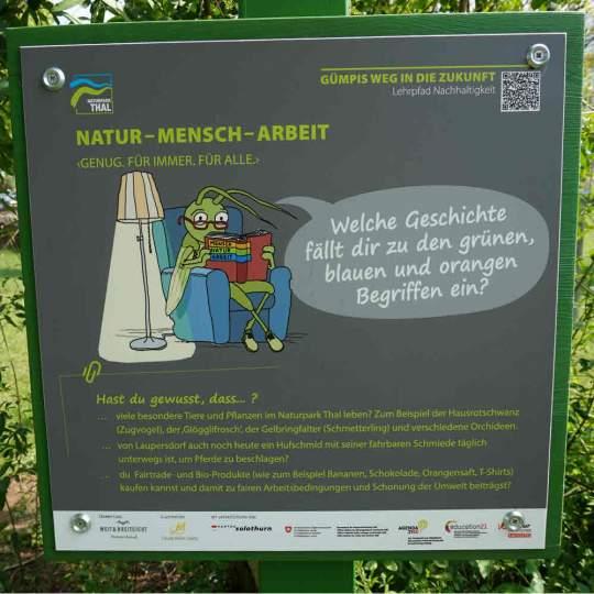 Vorschaubild zu Naturpark Thal – Gümpis Weg in die Zukunft