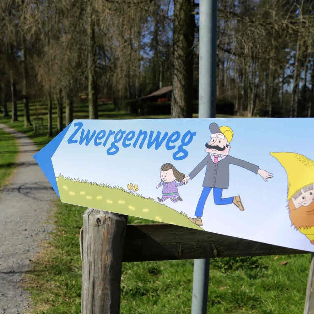 Zwergenweg Sonnenberg bei Kriens