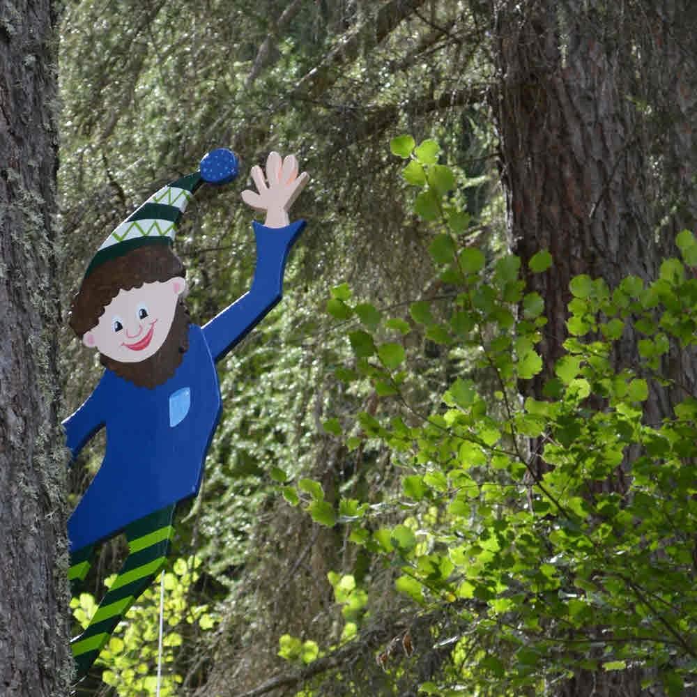 Kindererlebnisweg Zwergenwald Andeer
