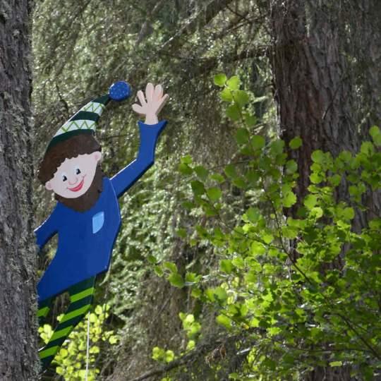 Vorschaubild zu Kindererlebnisweg Zwergenwald Andeer