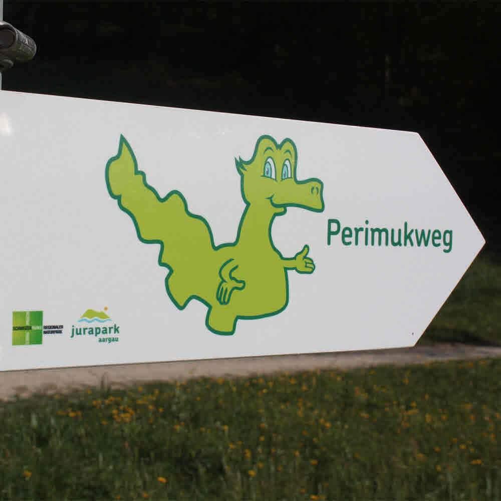 Perimukwege im Jurapark Aargau
