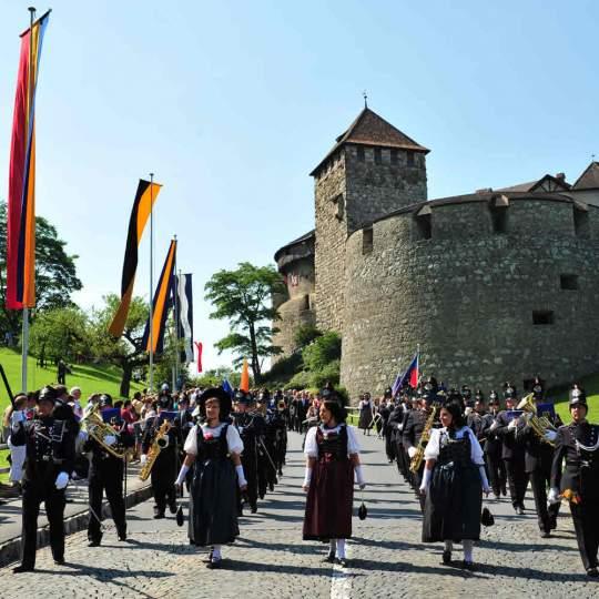 Vorschaubild zu Schloss Vaduz in Liechtenstein
