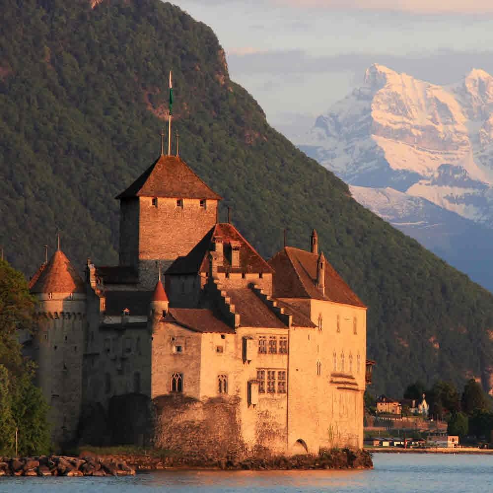 Schloss Chillon – mittelalterliches Meisterwerk