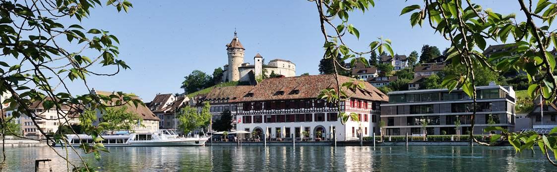 Festung Munot und Altstadt Schaffhausen 1