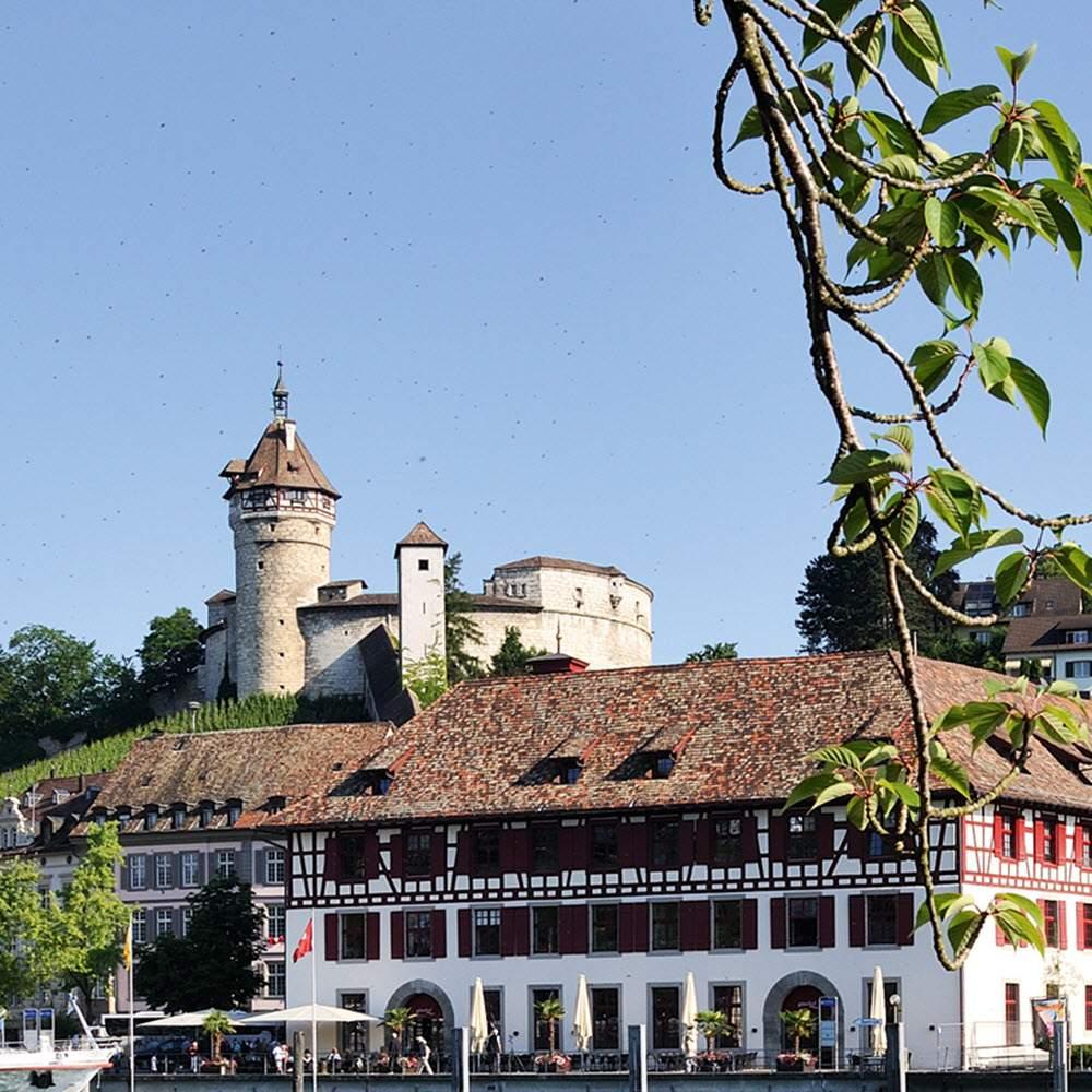 Festung Munot und Altstadt Schaffhausen