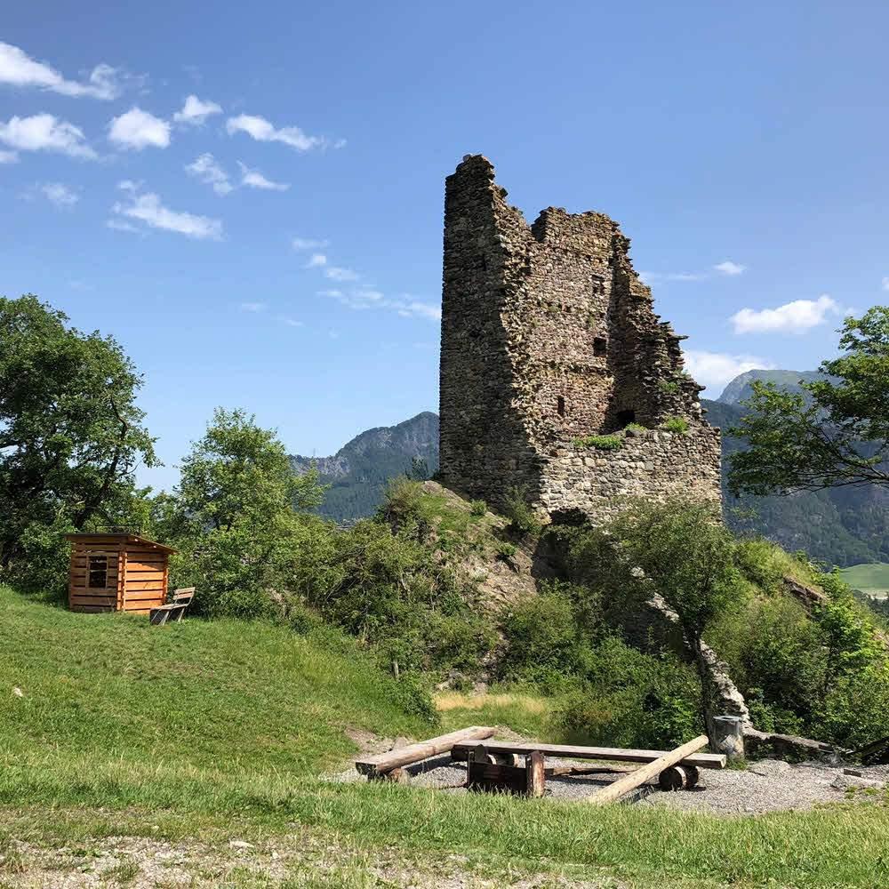 Burgruine Freudenberg, Bad Ragaz