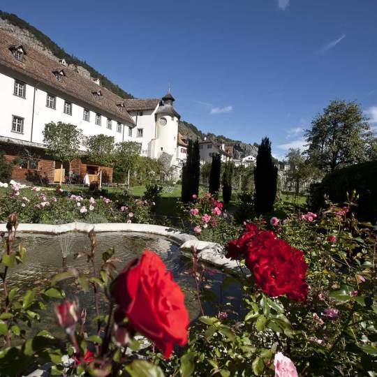 Vorschaubild zu Schloss Haldenstein bei Chur