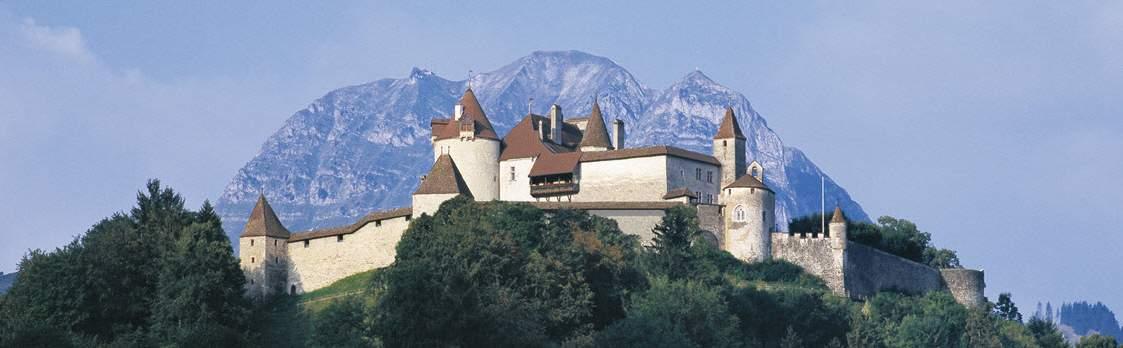Schloss Greyerz - Château de Gruyères, Greyerz 1