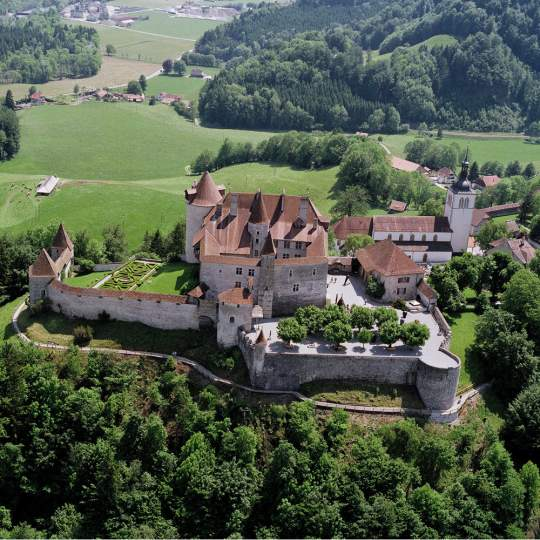 Schloss Greyerz - Château de Gruyères, Greyerz 10