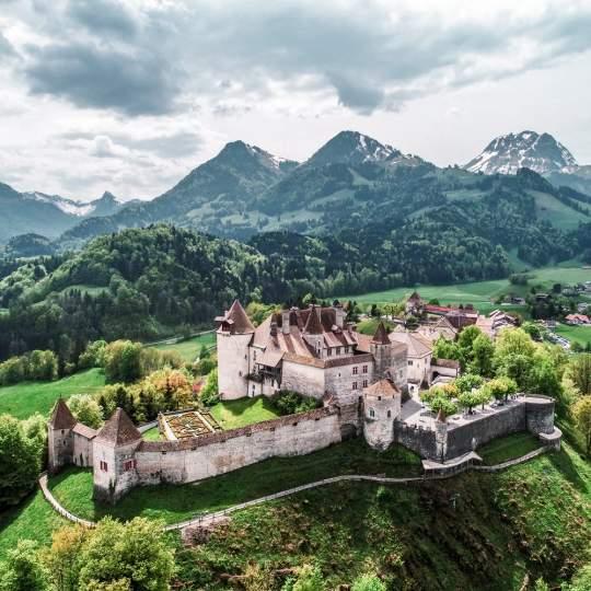 Vorschaubild zu Schloss Greyerz - Château de Gruyères, Greyerz