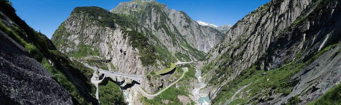 Schöllenenschlucht – die Kraftort Route 1
