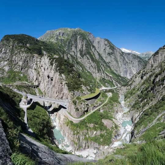 Schöllenenschlucht – die Kraftort Route 10
