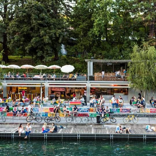 Flussbad Oberer Letten - Zürich 10