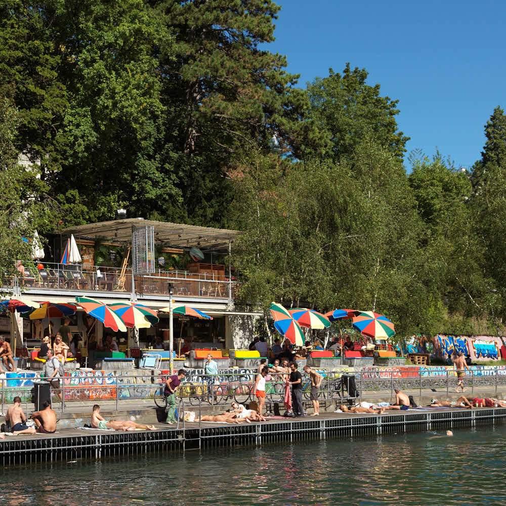 Flussbad Oberer Letten - Zürich