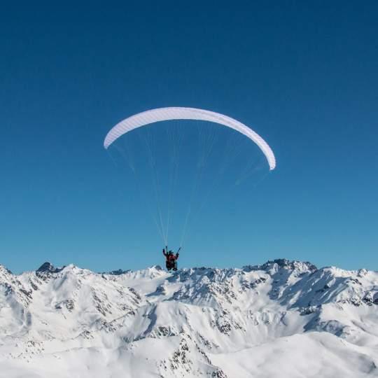 Davos Joyride Paragliding Gleitschirm Tandemflüge 10