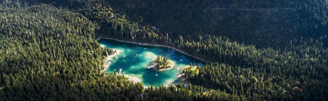Der Caumasee – die Perle von Flims 1