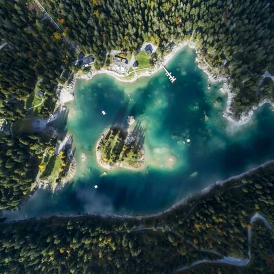 Der Caumasee – die Perle von Flims 10