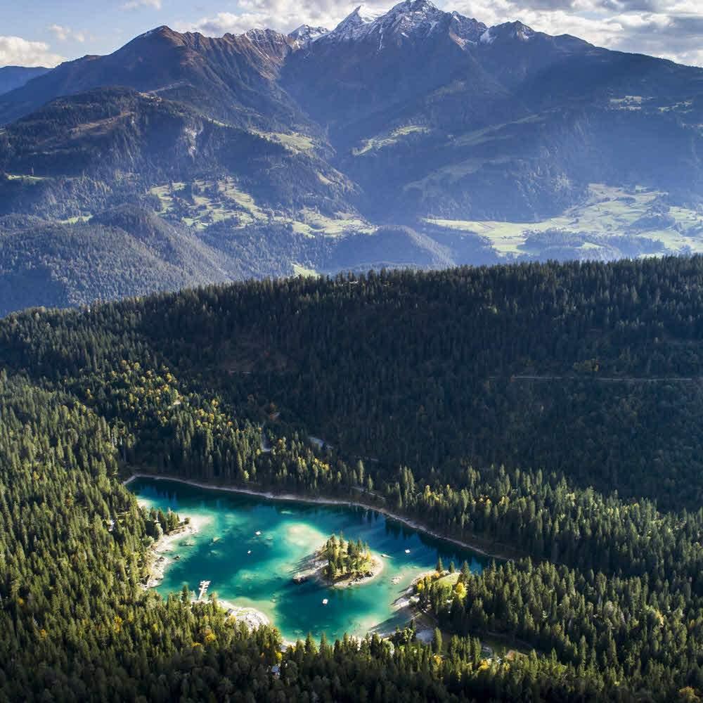 Der Caumasee – die Perle von Flims