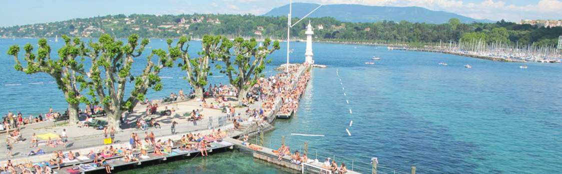 Bains des Pâquis in Genf 1