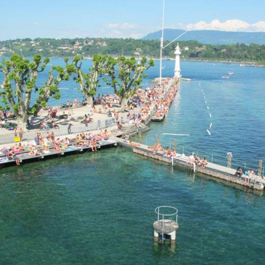 Bains des Pâquis in Genf 10