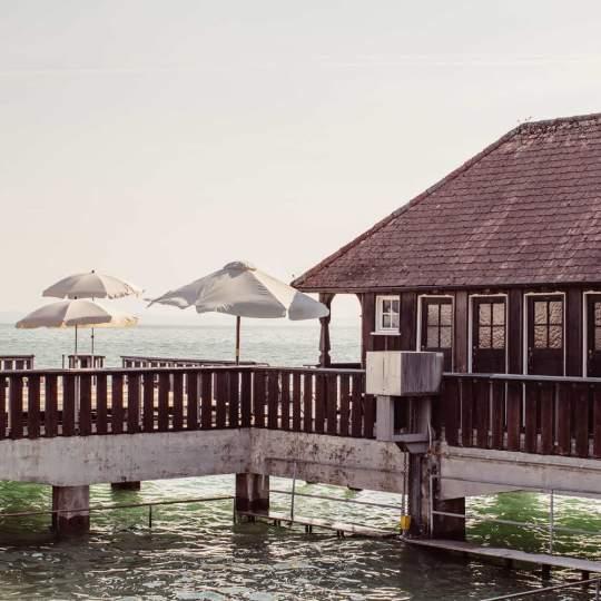 Vorschaubild zu Badhütte Rorschach - Seebadeanstalt