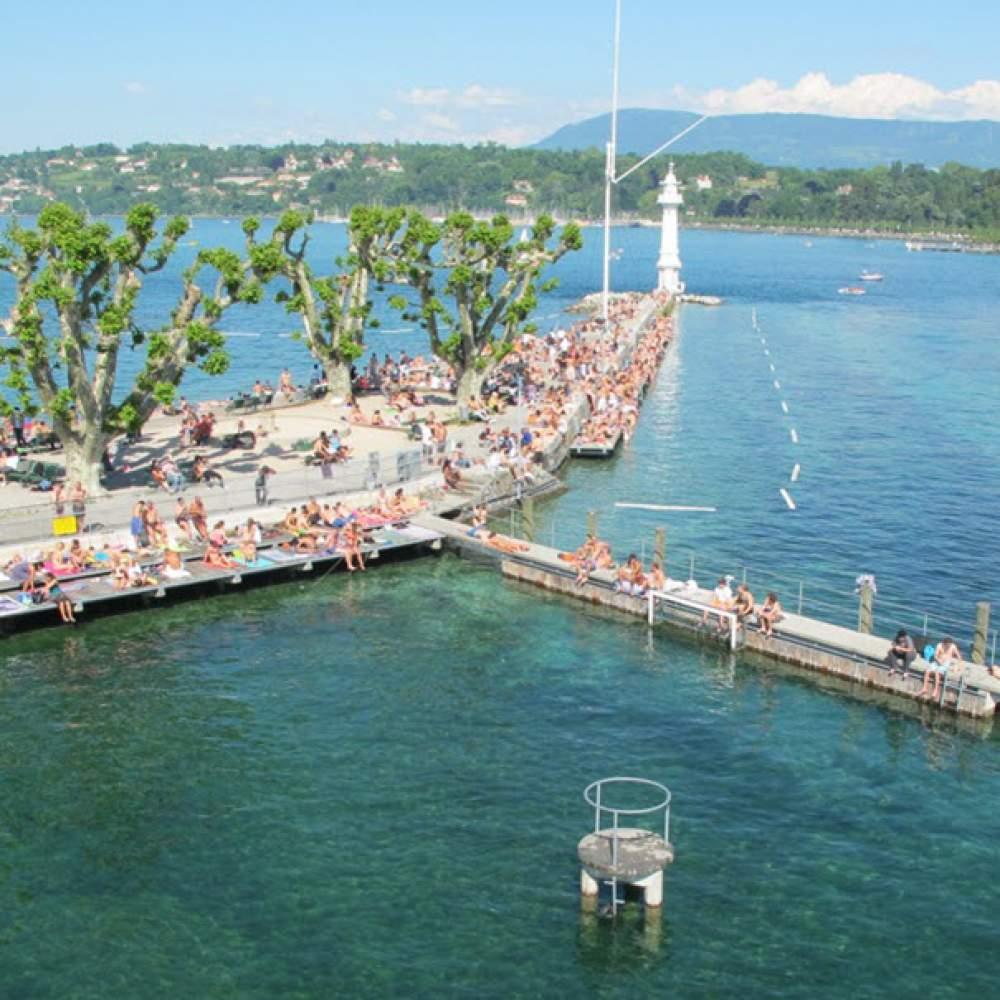 Bains des Pâquis in Genf