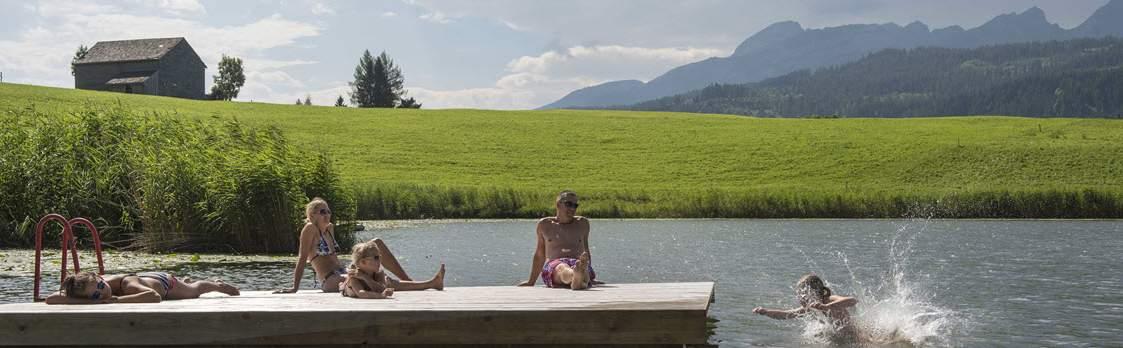 Naturbadi am Schönenbodensee bei Wildhaus 1