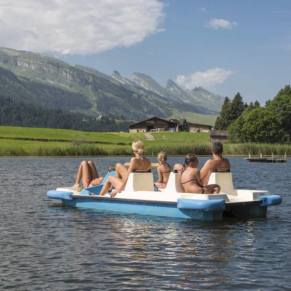 Naturbadi am Schönenbodensee bei Wildhaus