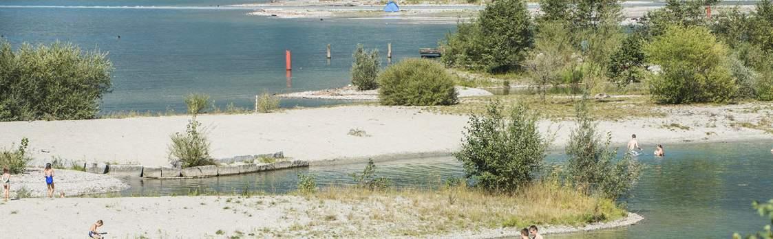 Badeinseln Lorelei Urnersee - Reussdelta 1