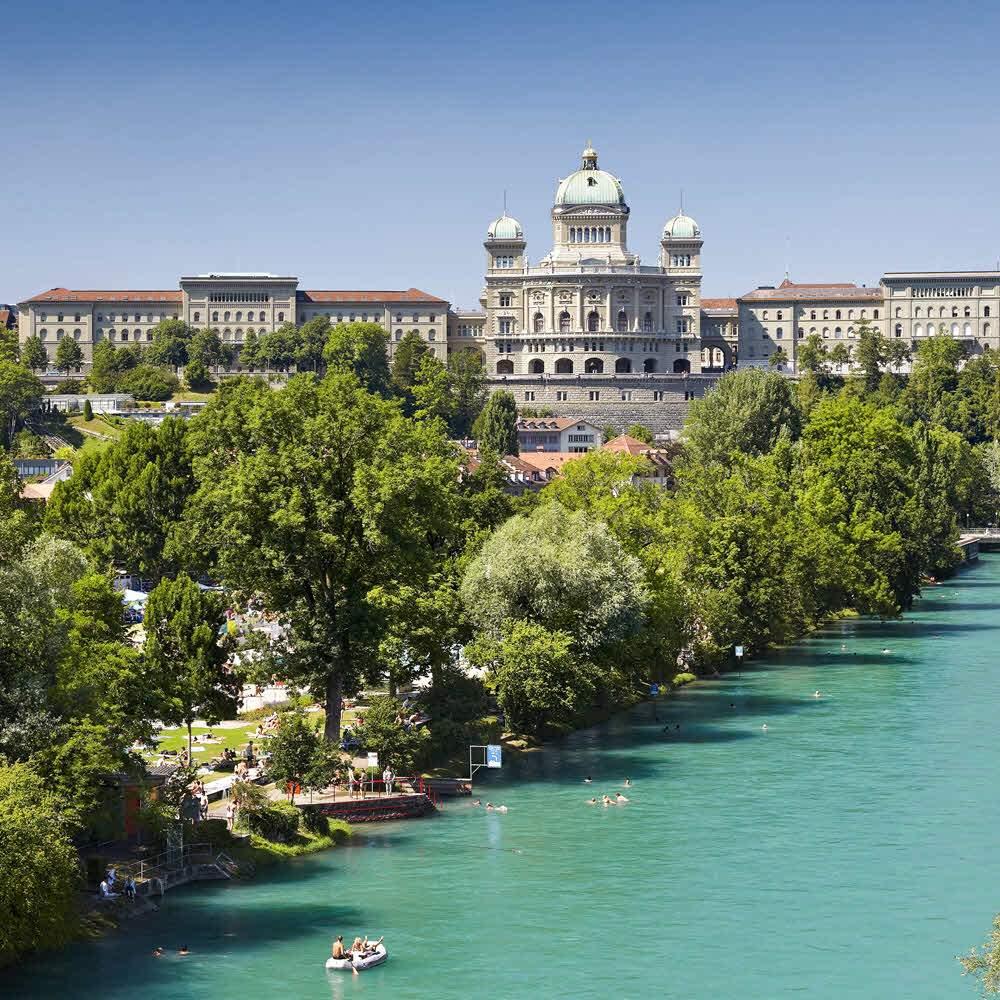 Freibad Marzili in Bern