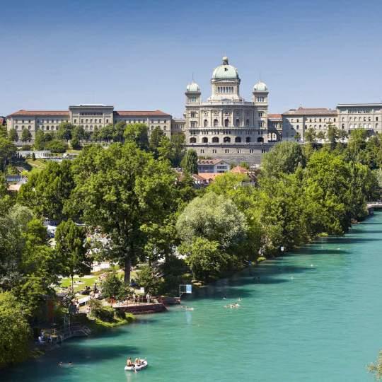 Vorschaubild zu Freibad Marzili in Bern