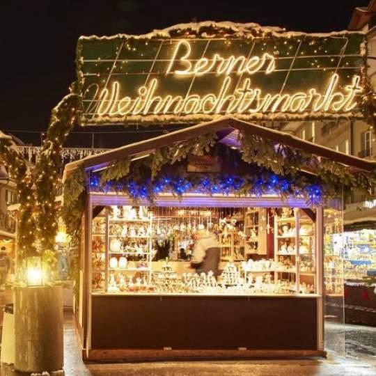Vorschaubild zu Weihnachtsmarkt Bern Waisenhausplatz