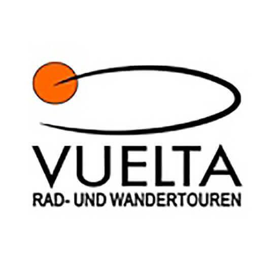 Logo zu Jakobsweg Fahrradtour mit Vuelta Rad- und Wandertouren