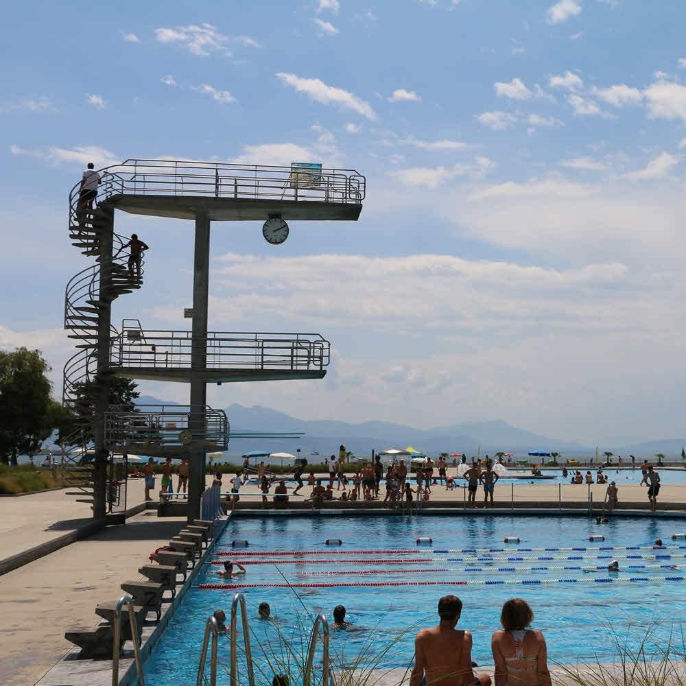 Freibad Bellerive-Plage in Lausanne