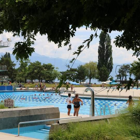 Freibad Bellerive-Plage in Lausanne 10