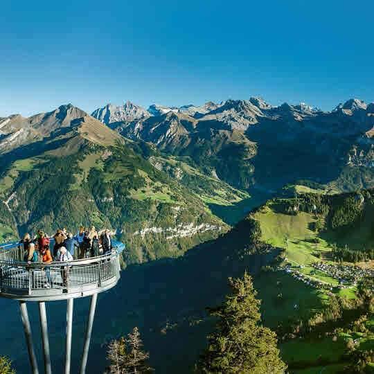 Vorschaubild zu Aussichtsplattform Stanserhorn – Stans