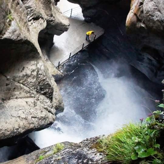 Trümmelbachfälle Stechelberg/Lauterbrunnen 10