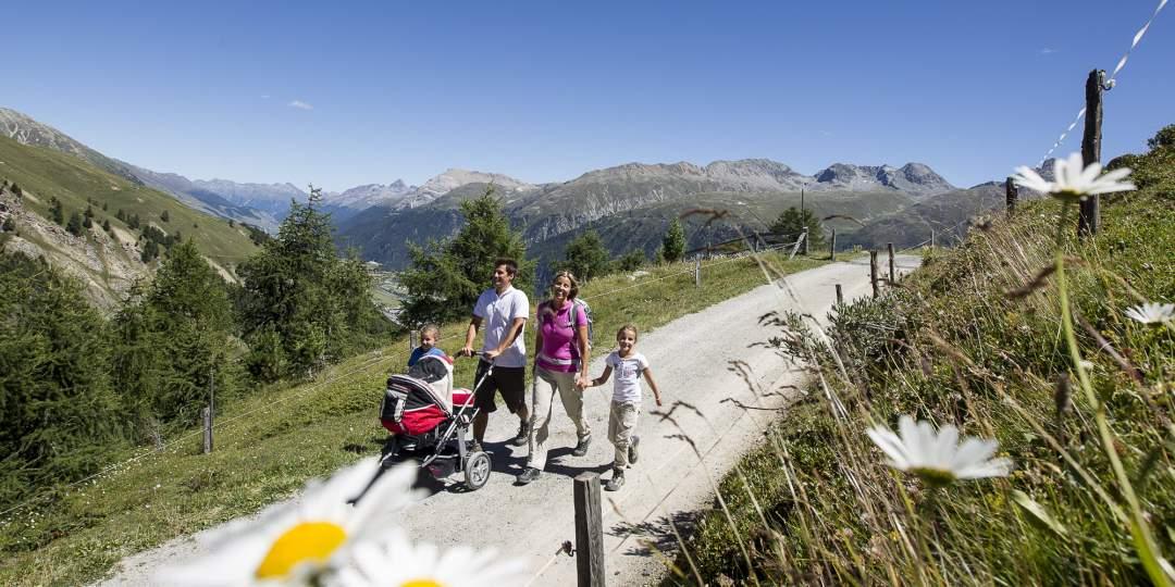 Family Special Engadin: grosses Vergnügen mit kleinen Gästen