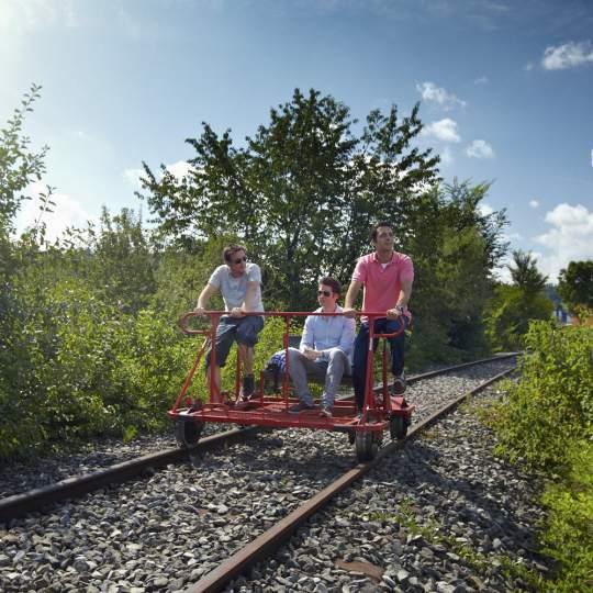 Schienenvelo fahren – das Erlebnis im Sensetal! 10