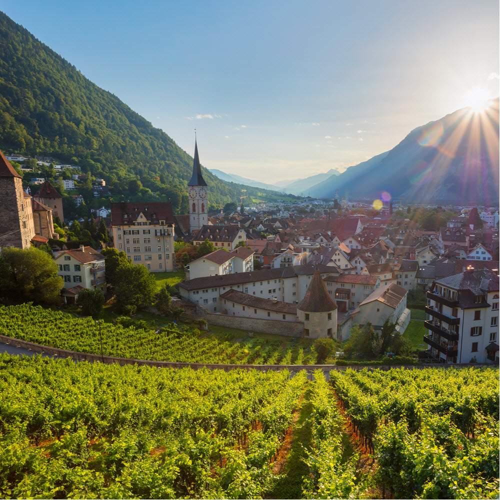 Chur die Alpenstadt - erleben und entdecken