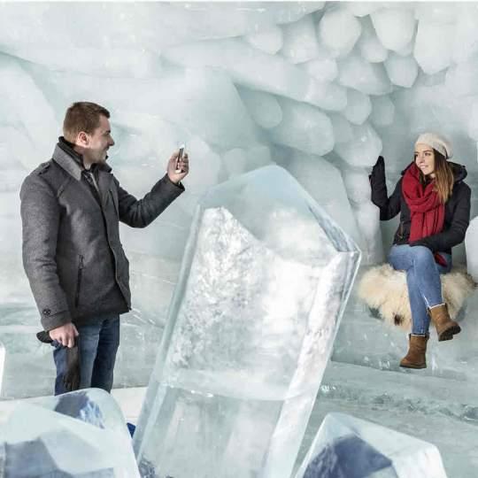 Gletscher-Palast Matterhorn glacier paradise 10