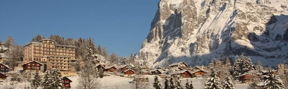 Grindelwald im Winter - Ferien im Hotel Belvedere 1
