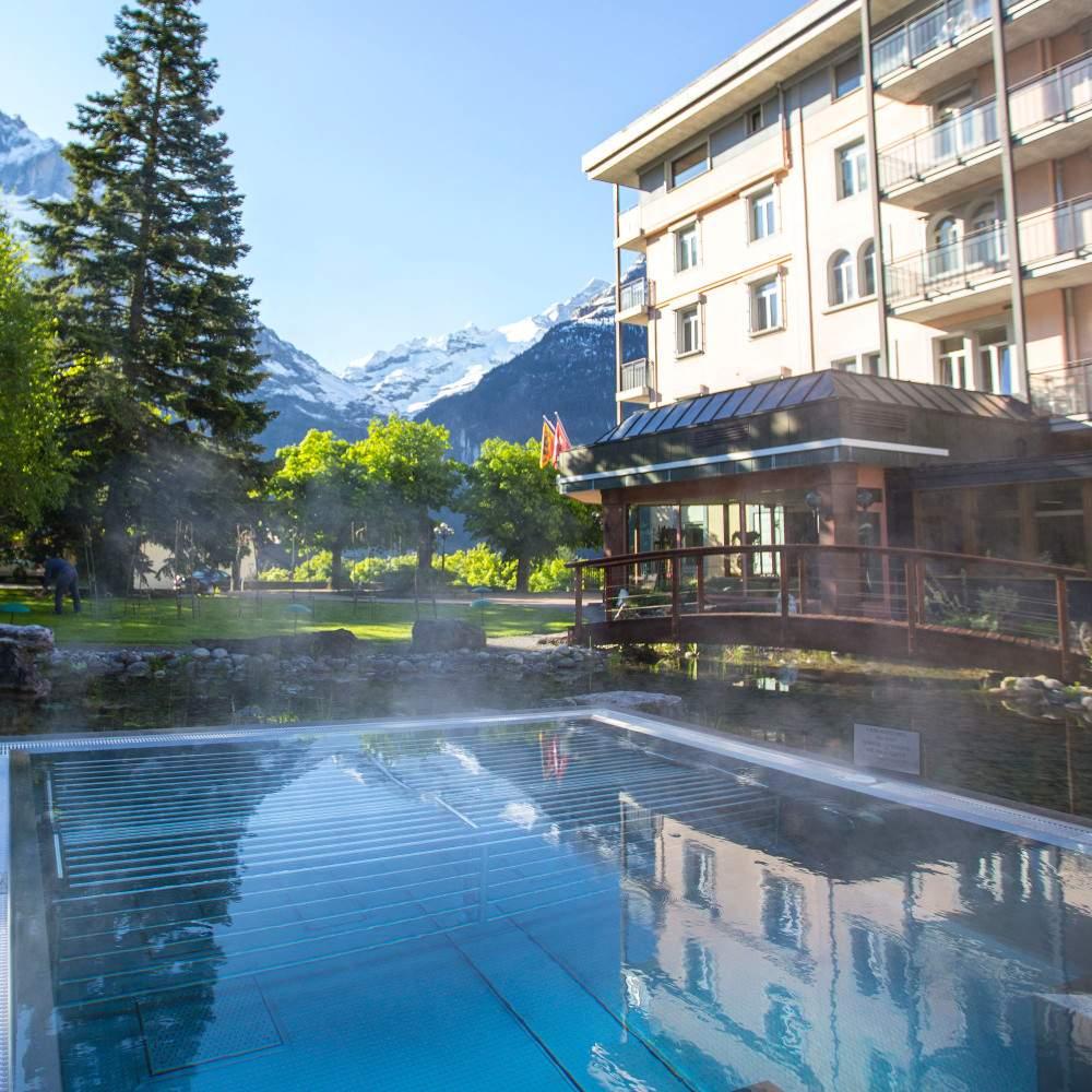 Wellness im Hotel Belvedere Grindelwald - Entspannung pur
