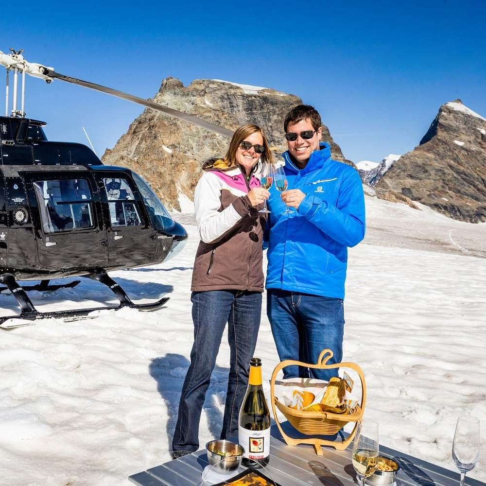 Vorschaubild zu Helikopterflug Zentralschweiz