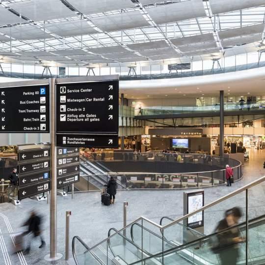 Airport Shopping am Flughafen Zürich 10